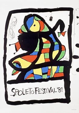 Spoleto Festival 1981, Juan Miro