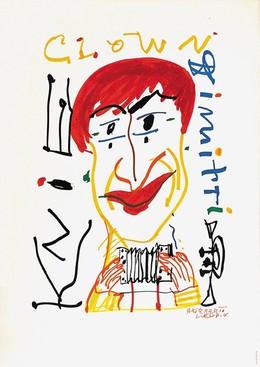 KNIE – Clown Dimitri, Herbert Leupin