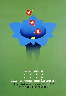 Eidg. Schwing- u. Aelplerfest, Bern, Claude Kuhn
