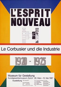 Museum für Gestaltung Zürich – l'esprit nouveau: Le Corbusier und die Industrie 1920 – 1925, Max Bill