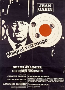 JEAN GABIN – Maigret voit rouge, Artist unknown