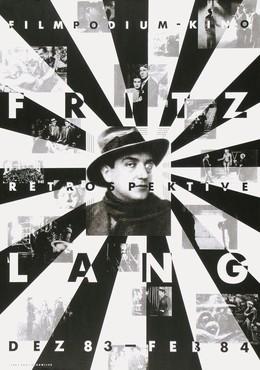 Filmpodium Kino Zürich – Fritz Lang – Retrospektive Dezember 1983 – Februar 1984, Paul Brühwiler