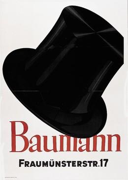 Baumann – Fraumünsterstr. 17, Otto Baumberger