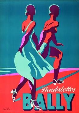 BALLY Sandalettes, Gerold Hunziker