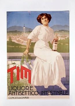 TIM Liquore Antisettico, Monogram L.B.