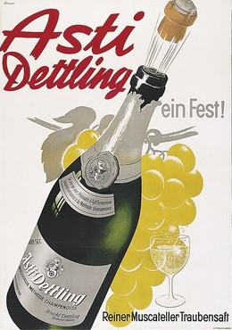 Asti Dettling – ein Fest! – Reiner Muscateller Traubensaft, Otto Ernst