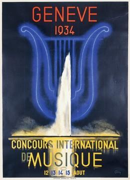 Concours international musique, Genève 1934, Henri Fehr