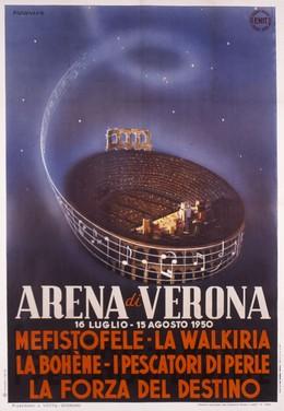ARENA DI VERONA – 16 LUGLIO – 15 AGOSTO 1950, Tolmino Ruzzenente