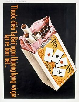 LES AS – Cigarettes, Artist unknown