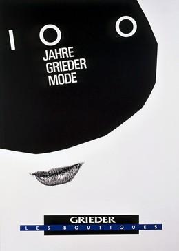 GRIEDER LES BOUTIQUES – 100 Jahre Grieder Mode, Werner Jeker