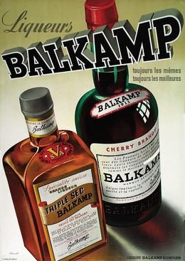 Liqueurs Balkamp – Cherry Bandy – Triple Sec, Otto Ernst