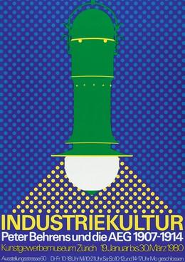 Museum für Gestaltung: Peter Behrens und die AEG 1907 – 1914 – Industriekultur, Niklaus Troxler