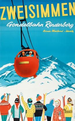 ZWEISIMMEN – Gondelbahn Rinderberg – Berner Oberland – Schweiz, Grossniklaus