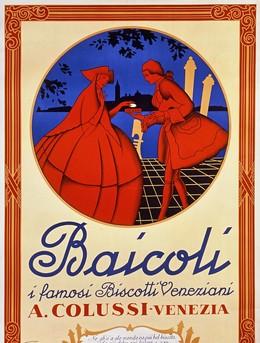 Baicoli – i famosi Biscotti Veneziani – A. Colussi Venezia, EMKA