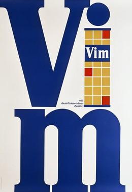 VIM mit desinfizierendem Zusatz, Layout: Wetter Brack Lintas