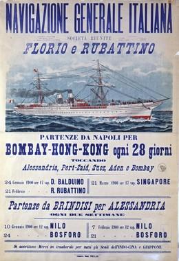 Navigazione Generale Italiana, Artist unknown