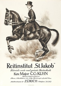 Riding stable St. Jakob Zurich, Hugo Laubi