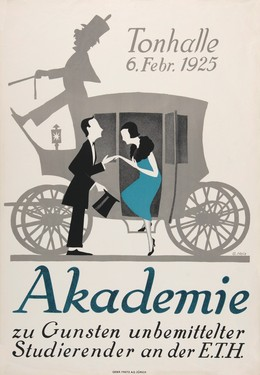 Tonhalle – Akademie – 1925 E.T.H, G. Heiz