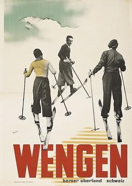 WENGEN, Hans Thöni