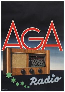 AGA Radio, M. Akerhielm