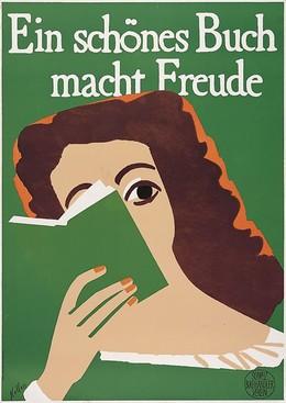 Ein schönes Buch macht Freude – Schweizerischer Buchhändler-Verein, Ernst Keller