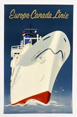Europa Canada Linie – Seven Seas, Reyn Dirksen
