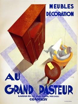 AU GRAND PASTEUR – Meubles Décoration – CHAMBERY, C. Villot