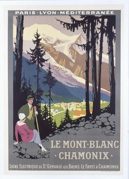 PLM – Le Mont-Blanc Chamonix, Roger Broders