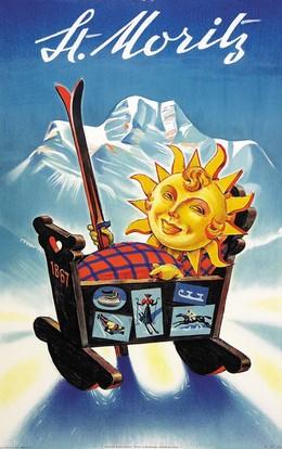 St. Moritz, Hugo Laubi