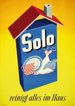 Solo reinigt alles im Haus, Urs Aerni