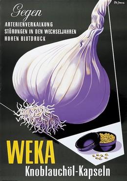 WEKA Knoblauchöl-Kapseln – gegen Artherienvekalkung, Störung in den Wechseljahren, hohen Blutdruck, Pierre-Alexandre Junod