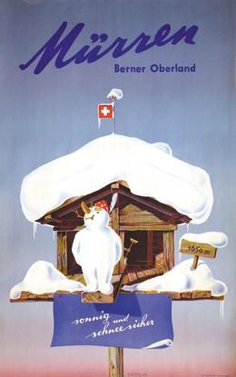 Mürren – Berner Oberland – sonnig und schneesicher, Petrus