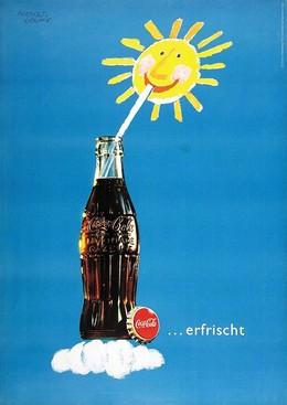 Coca-Cola…erfrischt, Herbert Leupin