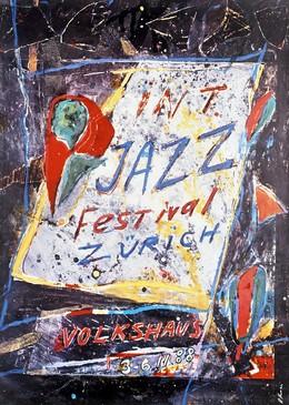 JAZZ Festival Zürich 1988, Daniel Humair