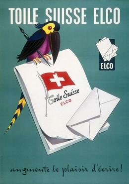 TOILE SUISSE ELCO – macht das Briefschreiben zum Vergnügen!, K. Jenni