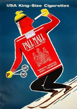 Pall Mall Cigarettes – USA King Size, Daphne Padden