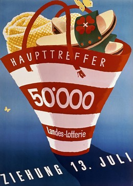 Landes Lotterie Hauptreffer 50.000 – 13. Juli, Walter Sigg