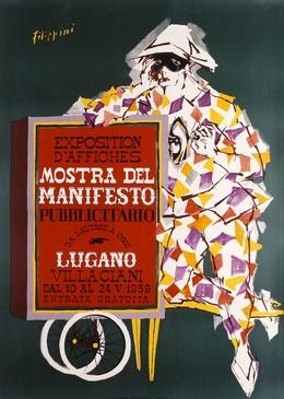 Exposition d'Afiches – Mostra del Manifesto, Lugano, Felice Filippini