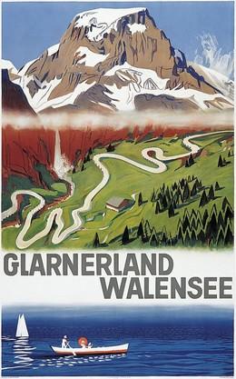 GLARNERLAND – WALENSEE, Otto Baumberger