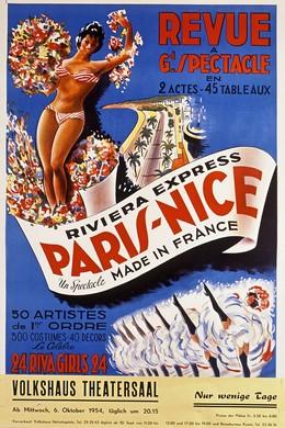 Revue Spectacle Paris-Nice, P. Baznier