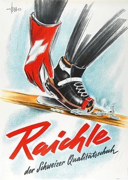 Raichle – Der Schweizer Qualitätsschuh, Fritz Hirzel