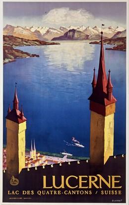 LUCERNE – Lac des Quattre Cantons, Otto Landolt