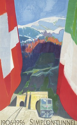 1906 – 1956 – Simplon Tunnel, Adrien Holy