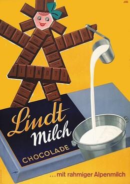 Lindt Milch Chocolade – mit rahmiger Alpenmilch, Emil Ebner
