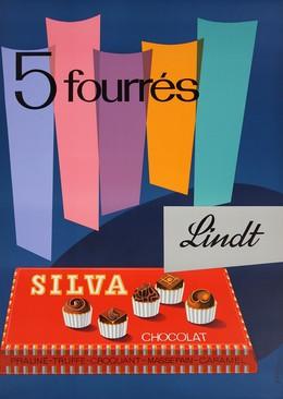 Lindt Silva Chocolat – 5 fourrés, Hans Portmann