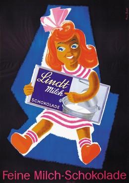 Lindt – Feine Milch-Schokolade, Etienne Bucher