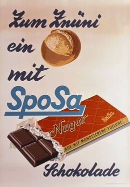 SpoSa Nugor – Zum Znüni … ein (Brötli) mit SpoSA, Artist unknown