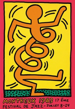 JAZZ Festival Montreux 1983 / 17. Festival – Keith Haring, Keith Harring