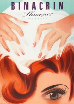 BINACRIN Shampoo Marke BINACA, Donald Brun