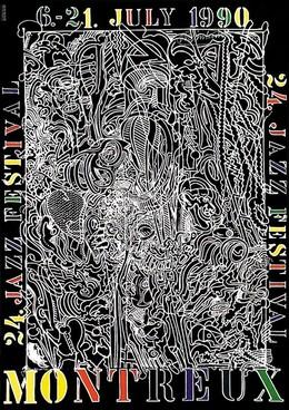 JAZZ Festival Montreux 1990 / 24. Festival – Bernhard Luginbühl, Bernhard Luginbühl